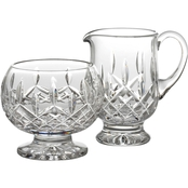Waterford Lismore Footed Sugar and Creamer