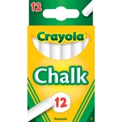 Crayola Chalk White 12 pk.