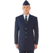 DLATS Air Force Men's Enlisted Service Dress Coat