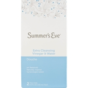 Summer's Eve Douche, Extra Cleansing, Vinegar & Water, 2 pk.
