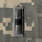 Army Rank WO1 ACU with Velcro, 2 pc.