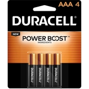 Duracell AAA Batteries 4 Pk.