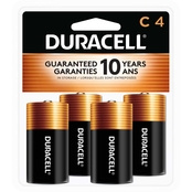 Duracell C Batteries 4 Pk.