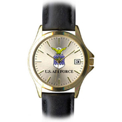 Frontier Men's Air Force Insignia Quartz Date Watch 10D