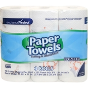 Exchange Select Paper Towels 3 Pk.