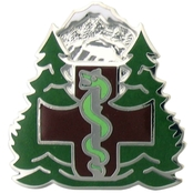 US Army Medical Department Activity (MEDDAC), Fort Drum Unit Crest