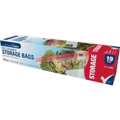 Exchange Select Reclosable Storage Gallon Bags, 19 pk.