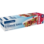 Exchange Select Slider Storage Bags 1 Gallon 1.75 oz. 15 pk.