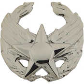 Air Force Commander's Insignia Duty Badge, Mirror Finish, Regular Size