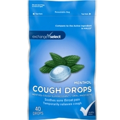 Exchange Select Cough Drops, 40 Drops