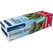 Exchange Select Reclosable Bags, Quart, 24 pk.