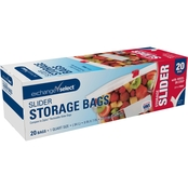 Exchange Select Slider Bags, Quart, 20 pk.