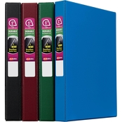 Avery Durable Binder, 1 in. Round Rings, 220 Sheet Capacity