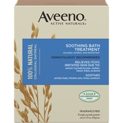 Aveeno Soothing Bath Treatment for Itchy, Irritated Skin, 8 pk.