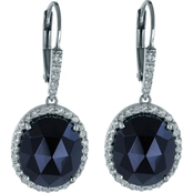 Robert Manse Designs Gem RoManse Black Onyx and White Topaz Earrings