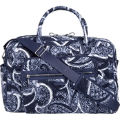 Vera Bradley Iconic Weekender Travel Bag, Indio