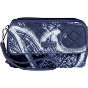 Vera Bradley Iconic RFID All in One Crossbody, Indio