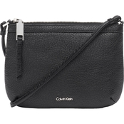 Calvin Klein Pebble Leather Crossbody Handbag