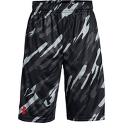 Under Armour Boys Stunt Printed Shorts