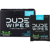 Dude Singles Wipes 30 pk.