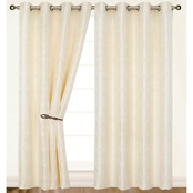 Dainty Home Helen Single Curtain Panel