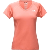 The North Face Womens Reaxion Amp V-Neck Tee