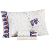 Martha Stewart Collection Whim Bordelrine Paisley Sheet Set