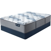 Serta iComfort Hybrid Blue Fusion 200 Plush Mattress Low Profile Set