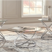 Signature Design by Ashley Hollynyx 3 Pc. Occasional Table Set