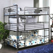 Furniture of America Olga Triple Bunk Bed
