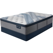 Serta iComfort Hybrid Blue Fusion 1000 Plush Mattress Set