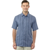 Haggar Big & Tall Microfiber Woven Shirt