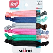 Scunci Knotted Ponytailers 12 pk.