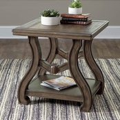 Signature Design by Ashley Tanobay Square End Table