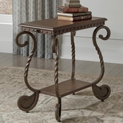 Signature Design by Ashley Rafferty Chair Side End Table