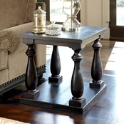 Signature Design by Ashley Mallacar Rectangular End Table