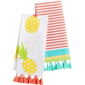 Martha Stewart Collection 2 pc. Fiesta Kitchen Towel Set