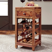 Signature Design by Ashley Abbonto Wine Cabinet