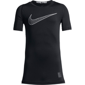 Nike Boys Pro Fitted Top