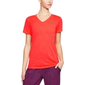 Under Armour Threadborne Slub V Neck Tee