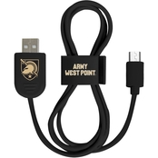 QuikVolt West Point Black Knights Micro USB Cable with QuikClip