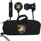 AudioSpice West Point Black Knights Scorch Earbuds with Mic and BudBag
