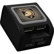 QuikVolt West Point Black Knights 4 Port USB Wall Charger
