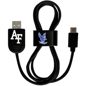 QuikVolt Air Force Falcons Micro USB Cable with QuikClip