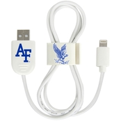 QuikVolt Air Force Falcons Lightning USB Cable with QuikClip