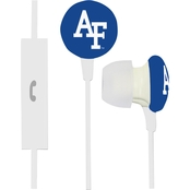 Air Force Falcons Ignition Earbuds With Microphone Clamshell