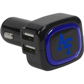 QuikVolt Air Force Falcons 4 Port USB Car Charger