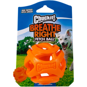 Petmate Chuckit Breathe Right Fetch Ball Dog Toy, Large