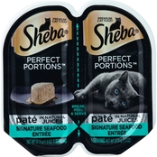 Sheba Perfect Portions Pate Signature Seafood Entree 2.6 oz.