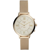 Fossil Women's Q Jacqueline Stainless Steel Hybrid Smartwatch
